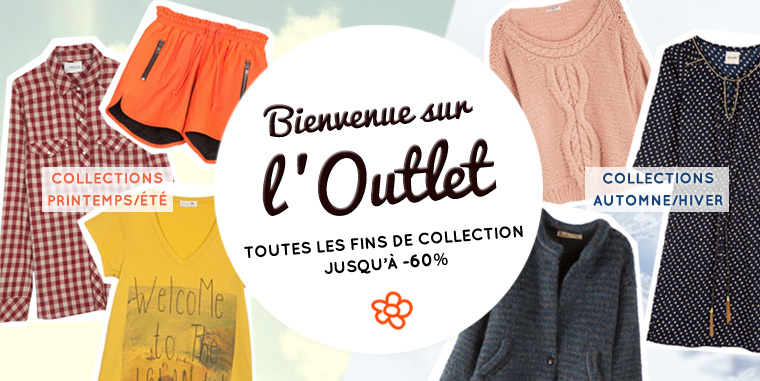 outlet soldes fin de collections vetements femme brand bazar